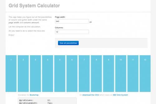 grid-system-calculator